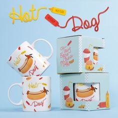 Hot Dog Mug #hotdog #bassotto #mug