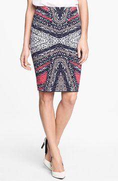 Diane von Furstenberg 'Phaedra' Knit Skirt available at #Nordstrom
