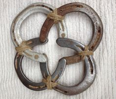 Vintage Horse Shoe Star - I must do this with mine!  Kathy Bugbee Here ya go!!