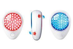 """THE ZIT ZAPPER Light-therapy devices use LEDs, very specific wave-lengths of light, and """"most claim to treat acne with blue LEDs or wrinkles with red ones,"""" says Howard Sobel, a dermatologist in New York City. Dermatologists have used blue lights to kill acne-causing bacteria for years, """"but even medical-grade red lights may not drastically improve wrinkles; they're best for calming inflammation."""" That's why we like the Baby Quasar Clear Rayz: """"The red and blue lights will heal breakouts in…"""