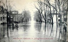 1913 flood in Chillicothe, Ohio
