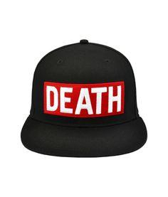 Casquette Unkut Death Noir #snapback #snapbax