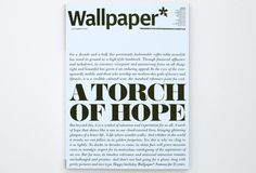 MagSpreads - Editorial Design and Magazine Layout Inspiration: 15 Wallpaper* covers by 15 image makers