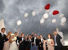 Wedding Balloons - Wedding Reception in Tuscany