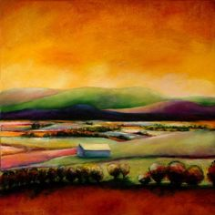 Landscape Paintings and photographs : Taos landscape painting