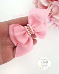 Fast And Easy Projects - How to Make Hair Clips? Diy Hair Bows, Making Hair Bows, Baby Hair Clips, Baby Headbands, How To Make Hair, How To Make Bows, Baby Tiara, Baby Girl Hair Accessories, Diy Accessoires