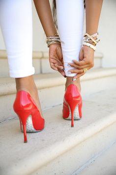 Glitter soles