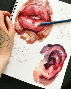 ғᴏʟʟᴏᴡ ᴍᴇ @ ᴇᴍᴍᴀ_ᴇᴍᴍᴀ - A Level Art Sketchbook - A Level Art Sketchbook, Arte Sketchbook, Sketchbook Ideas, Sketchbook Inspiration, Inspiration Art, Art Inspo, Arte Gcse, Portfolio D'art, Art Sketches