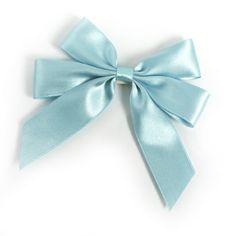 exklusives Satinband als Fertigschleife #hellblau #bow #geschenkschleife Bows, Accessories, Fashion, Ribbons, Light Blue, Arches, Moda, Bowties, Fashion Styles