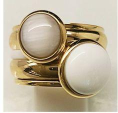 iXXXi white cateye Blue Line Zeewolde Blue Line, Gemstone Rings, Jewelry Design, Jewels, Gemstones, Birthday, Style, Fashion, Swag