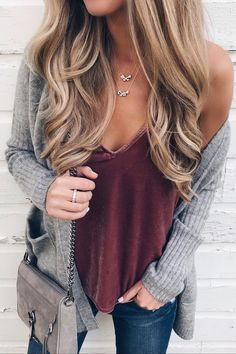 ee4707ade6ab 1735 Best Cardigan Outfits images in 2019 | Casual outfits, Fall ...