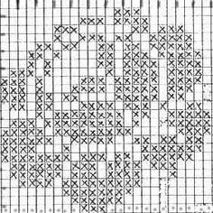 A gentile richiesta… le tendine a filet con le rose – My CMS Crochet Quilt, Crochet Cross, Crochet Tablecloth, Thread Crochet, Crochet Motif, Crochet Flowers, Crochet Stitches, Easy Crochet Patterns, Crochet Designs