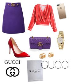 """Gucci"" by elena-ghitulescu on Polyvore featuring Gucci and Casetify"