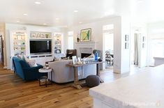 Utah Valley Parade of Homes | This showhome Sunday is featuring a recent Utah show home from the Utah Valley Parade of Homes. | Living room