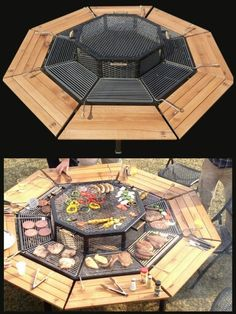 Awesome looking table grill I've seen.