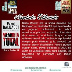 """Memoria Total"" (Amos Decker #1) de David Baldacci"