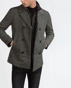 Imagem 2 de CASACO CORTE NA PARTE INFERIOR da Zara