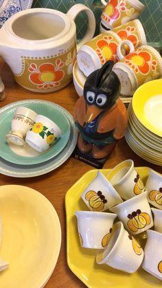 Earthenware, Household, Pottery, Mugs, Tableware, Hall Pottery, Ceramics, Dinnerware, Mug