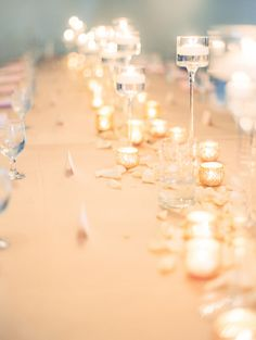 romantic candlelit wedding | Ashley Crawford Photography | Glamour & Grace