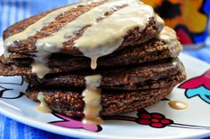 Paleo Chocolate Coffee Pancakes - the recipe calls for coconut flour, I'd like to try almond meal/flour.