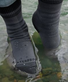 Waterproof Socks!!!! I was the kid that would go through socks like crazy because I'd wear them outside