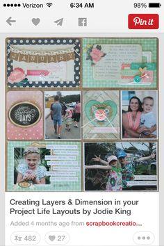Cute ideas to add dimension