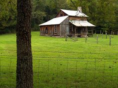 old homestead in the Ozarks