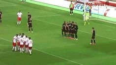 The Best Free Kick Misdirection Ever