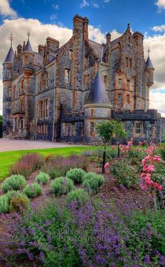 Blarney House, County Cork, Ireland , from Iryna
