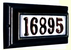 QualArc Standard Lighted Address Plaque Black Frame by Qualarc. $131.94. Budget Mailboxes has a 1-day sale on the Standard Lighted Address Plaque Black Frame by QualArc. This item is sometimes also known as: LTS-1300-BL - B0081A04CK - - WL-LTS-1300-BLBM