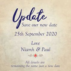 Need to postpone. we have cards/Invites to suit, don't worry! we are here to help weddingcardsdirect. Wedding Cards, Wedding Invitations, Invites, Business Help, Rsvp, Don't Worry, Words, Suit