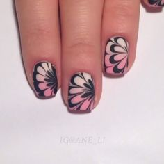 Watermarble nails by @ane_li  Song: The kids from yesterday by my chemical romance