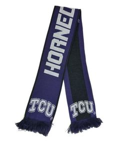 TCU Horned Frogs Fringe Scarf