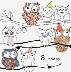 8 owls