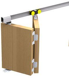 Schiebetürbeschlag Tango 40-150 für eine Falttür Faltschiebetür bis 150cm breite in Heimwerker, Fenster, Türen & Treppen, Sonstige | eBay!