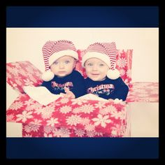 Twins Photography- this would be cute for a Christmas card with the girls!!!