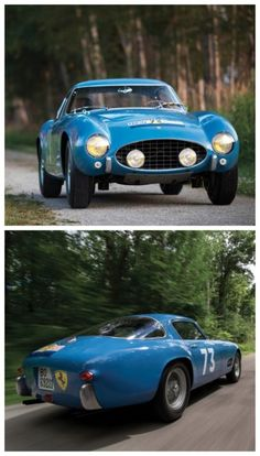 1956 Ferrari 250GT Berlinetta Competizione Tour de France. This car sold for $13,200,000 through RM Sotheby's. History oozes from this very famous car. Click to find out why.