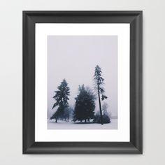 Alone in December Framed Art Print by Tina Crespo - $32.00