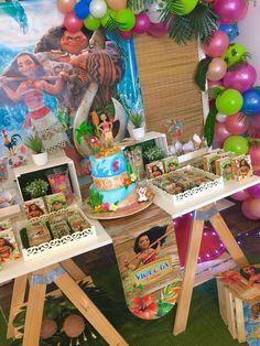 Moana and Maui Birthday Party Ideas | Photo 1 of 18
