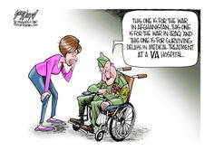 Political cartoon veterans Political and Editorial Cartoons - The Week