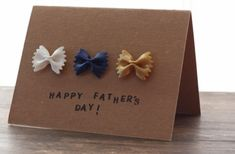 20 Father's Day cards and gifts that kids can make. Fun, easy, and cheap gifts and cards kids can make for Dad Fathers Day Crafts, Happy Fathers Day, Crafts For Kids To Make, Kids Crafts, Diy Father's Day Cards, Daddy Day, Father's Day Diy, Homemade Cards, Handmade Crafts