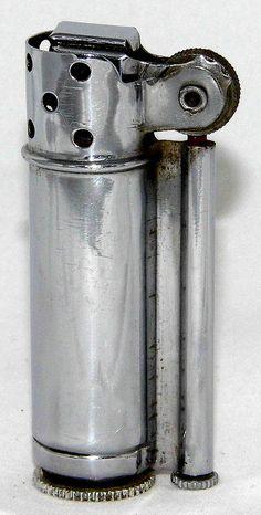 Vintage Dunhill Service Lighter, World War II Vintage, Made In USA. Cool Lighters, Cigar Lighters, Trench Lighter, Lighter Case, Smoking Accessories, Zippo Lighter, Antique Lighting, Lathe, Cool Stuff
