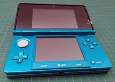 Nintendo 3DS bleu lagon d'occasion comme neuve > #Nintendo3ds #3ds #occasion