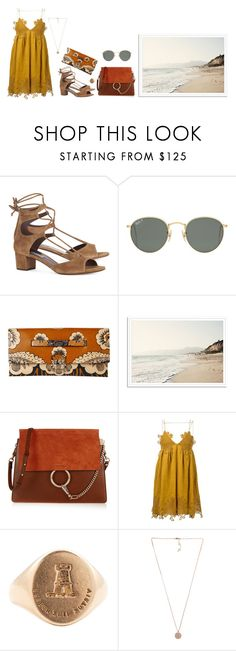 """""""Untitled #210"""" by goldandcocaine ❤ liked on Polyvore featuring Tabitha Simmons, Ray-Ban, Valentino, Chloé, Honour and Michael Kors"""