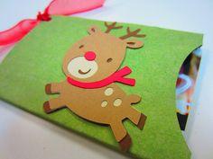 Cardboard Roll Gift Card Holder