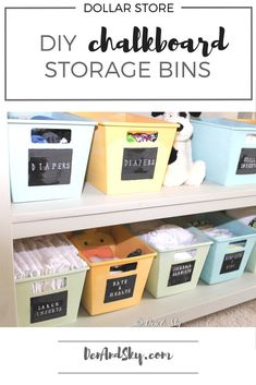cloth diaper storage | changing table storage | diaper organization
