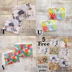 Greeting card flash sale!! How it works:  I've got 22 different designs. ( so check prior posts to see all the designs) Many designs come in both large and small sizes. ( but not all). Regular prices:  large cards $4.50 each (roughly 5x7... Some vary a bit from that size )  SALE price:  6 cards for $20  Small cards: $3.50 each (most are 4 1/4 x 5 1/2)  SALE PRICE: 6 cards for $15  Any additional cards over six will be discounted 25%  from their original price.  Shipping will be $4.00  Every…