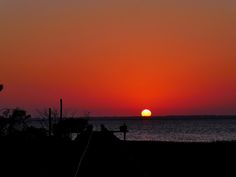 Sunset over Cape San Blas