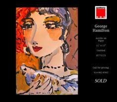 George Hamilton, Gallery, Paper, Artist, Movie Posters, Roof Rack, Artists, Film Poster, Billboard