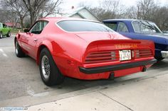 Pontiac Firebird Trans Am. As seen at the January 2012 Cars